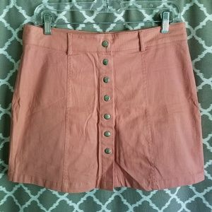 2Sable Blush Skirt NWOT Sz L